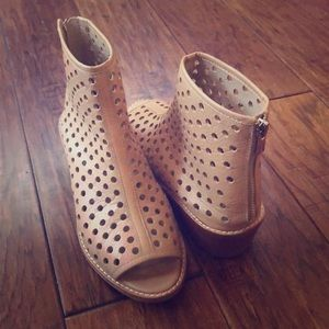 Leather Booties - Loeffler & Randall
